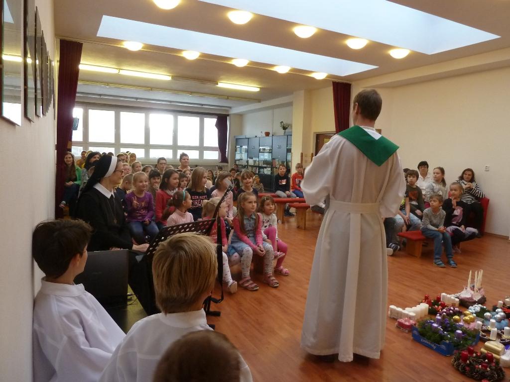 Požehnanie adventných vencov v Žiari nad Hronom