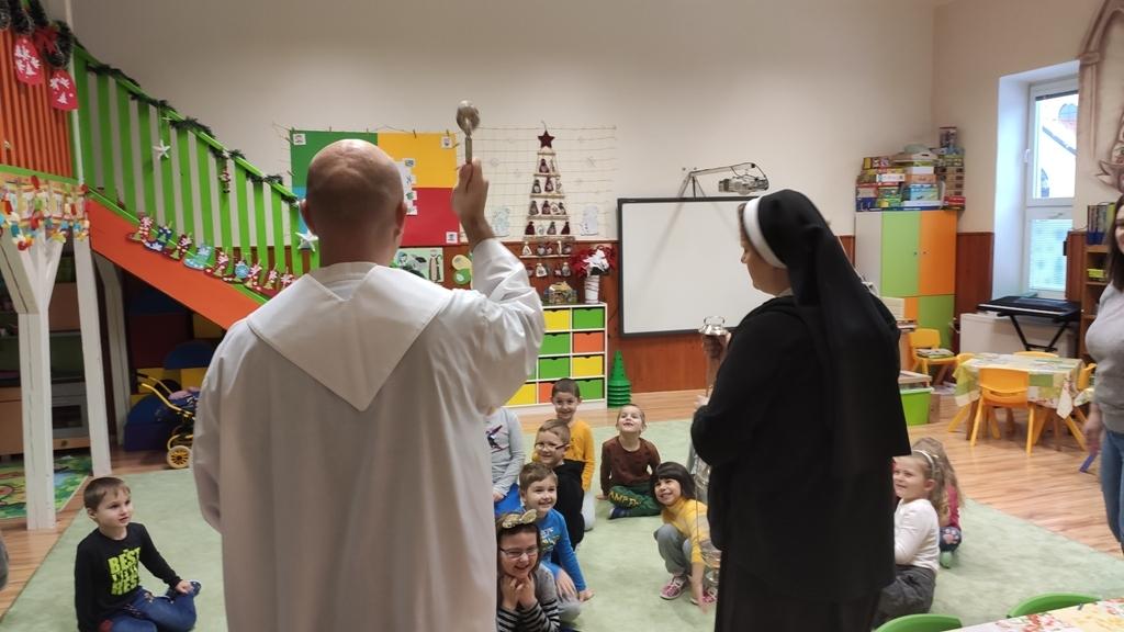 Požehnanie priestorov CMŠ a kláštora v Michalovciach