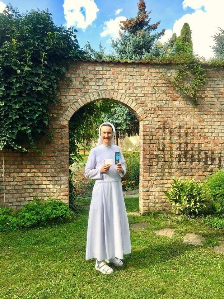 Sr. Zuzana prevzala ocenenie striebornej Janskeho plakety